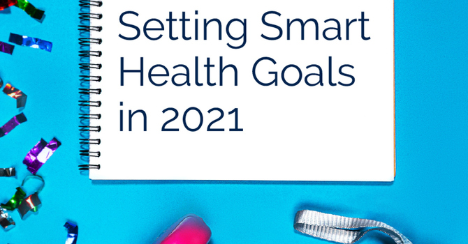 Setting Smart Health Goals in 2021 image